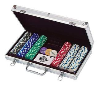 Poker Set 300 Fichas Spin Master