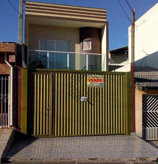 Sobrado Residencial À Venda, Jardim Los Angeles, Sorocaba. - So2076