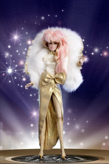 Boneca Jem - Glitter Gold Gift Set * Fashion Royalty