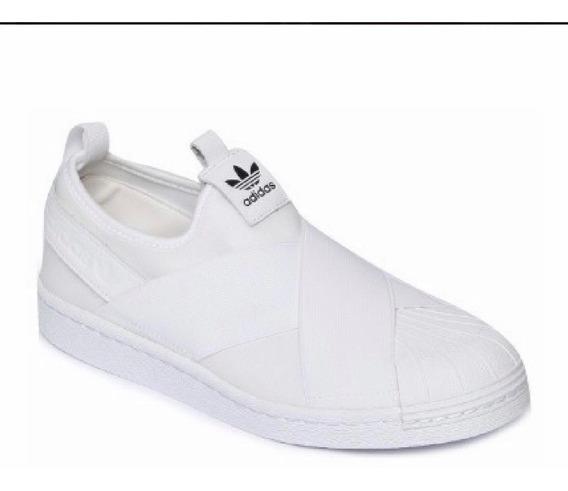 Tenis adidas Slip On Feminino Branco