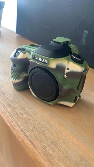 Canon Eos 80d (corpo) Semi Nova