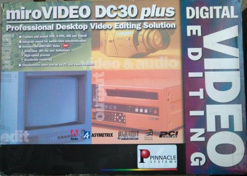 Capturador Grabador Profesional Pinnacle Miro Dc30 Plus