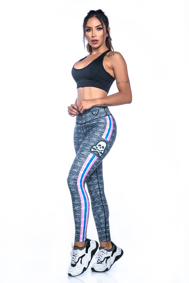 Leggings Leggins Lycras Colombianas Drakon Fit Push Up 15