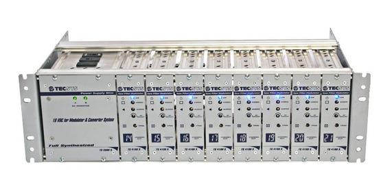 Rack Modulador 8 Canais Semi-ágil Não Adjacente