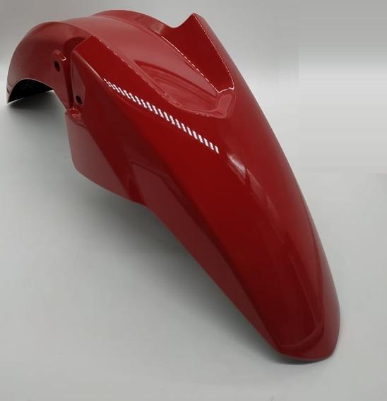 Paralama Dianteiro Fan 125 2014 Vermelho Original Honda