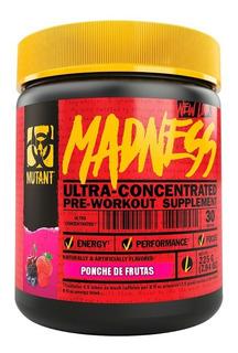 Pre Entreno Mutant Madness Ponche De Frutas
