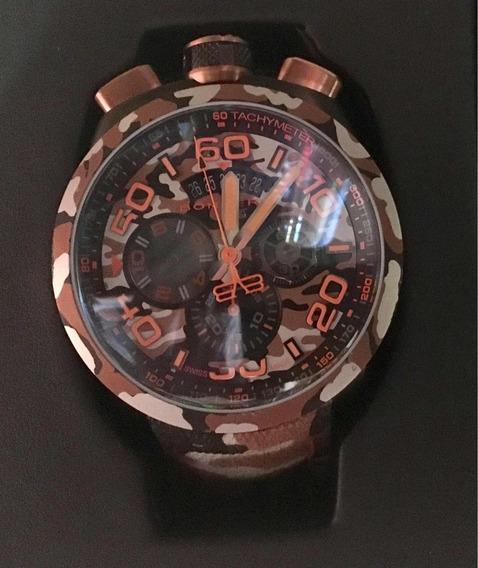Reloj Bomberg Bolt-68 Camo Sahara Café