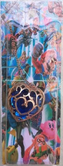Collar Azul Del Videojuego De La Leyenda De Zelda
