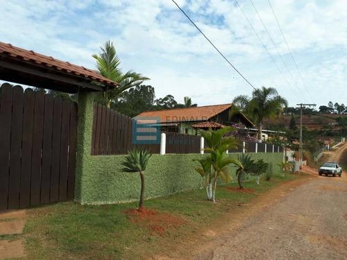 Imagem 1 de 15 de Linda Granja Com Casa De 3/4 No Condomínio Park Da Cachoeira - 625