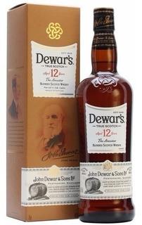 Whisky Blended Dewar´s 12 Años 750ml Origen Escocia.