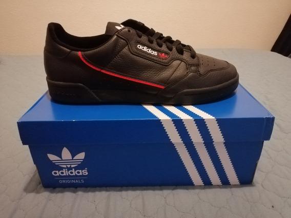 Tenis adidas Continental 80 G27707 Negros