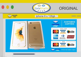 Smartphone iPhone 6s 128gb - Desbloquado - Original - Novo