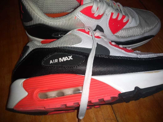 Zapatillas Nike Air Máx Impecables Sin Detalles 3 Usos!!!