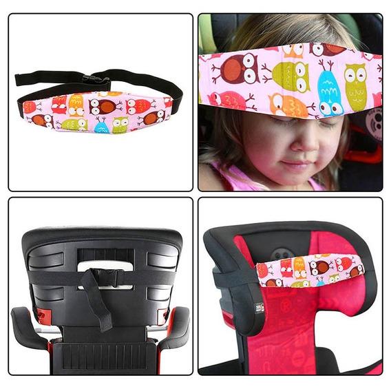 Faixa Segura Cabeça Bebê Cadeirinha Carro