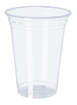 Imagem 1 de 2 de 500 Copos Cristal Pp 300ml/330ml P/ Chopp Agua Refri Drinks