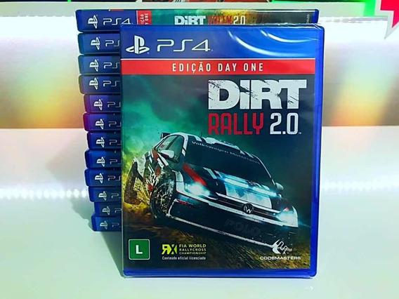 Dirt Rally 2.0 Ps4 Midia Fisica Lacrado