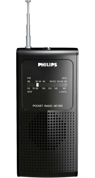 Rádio Philips Ae1500x/78 Am/fm C/ Entrada Para Fone