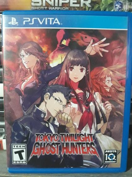 Tokyo Twilight Ghost Hunters - Jogo Mídia Fisica Pra Ps Vita
