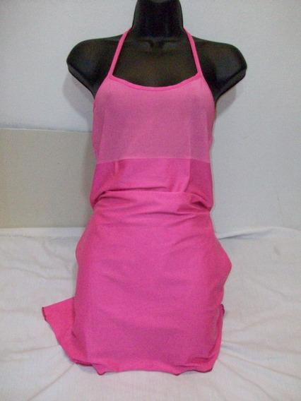 Vestido Playa Lycrado Oferta Martes Remate Total T/s.m Usad