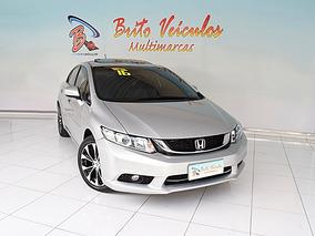 Honda Civic 2.0 Exr 16v Flex 4p Automático 2016