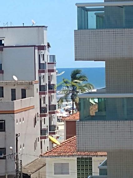 Apartamento Com 1 Dorm, Ocian, Praia Grande - R$ 80 Mil, Cod: Ac4238 - Vac4238