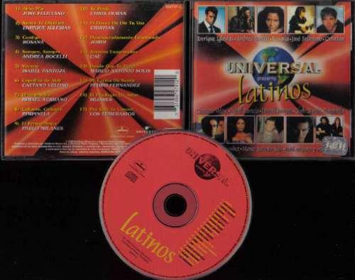 Latinos Feliciano Mijares Pimpinela Cae Jordi Cd Original