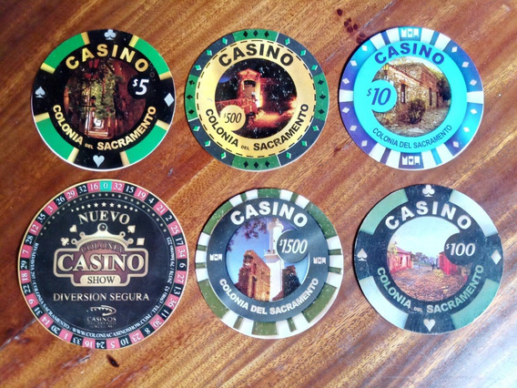 Antiguo Posavasos Radisson Casino Colonia Uruguay 1 A Elegir