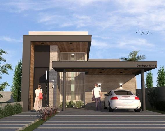 Casa À Venda, 140 M² Por R$ 590.000,00 - Alphaville - Gravataí/rs - Ca1779