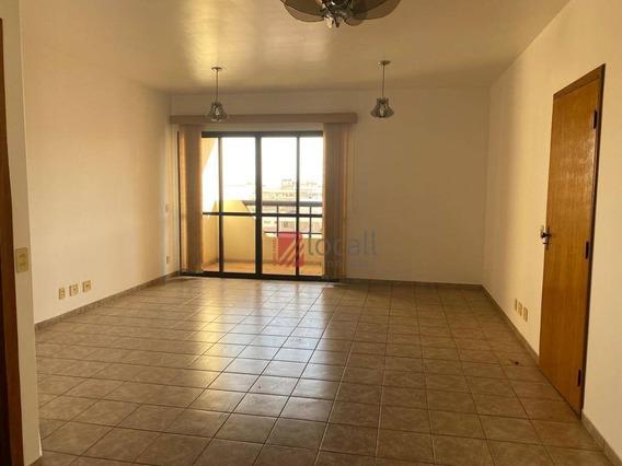 Apartamento Com 2 Dormitórios Para Alugar, 120 M² Por R$ 1.000/mês - Centro - São José Do Rio Preto/sp - Ap2050