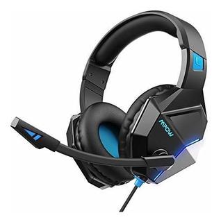 Auriculares Gamer Mpow Eg10 Cancelación De Ruido -azul