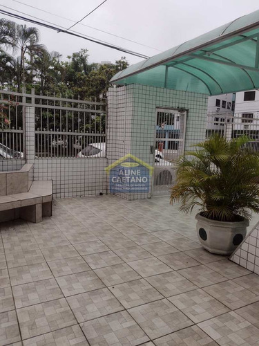 Imagem 1 de 18 de Kitnet Com 1 Dorm, Guilhermina, Praia Grande - Vact1608