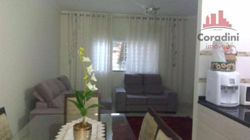 Imagem 1 de 9 de Casa Residencial À Venda, Centro, Nova Odessa. - Ca1212
