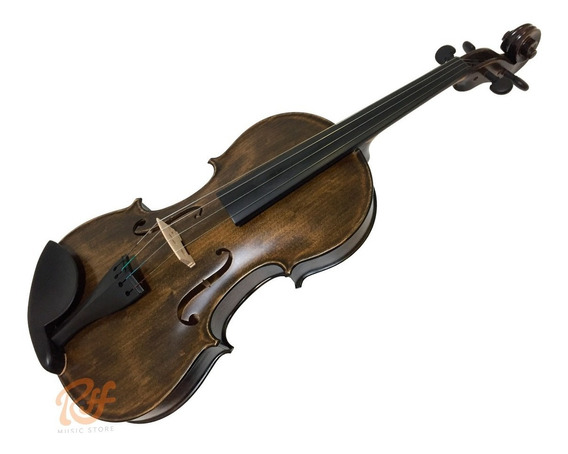 Viola De Arco Nhureson 40 Allegro 4/4 C/ Estojo - Riff Music