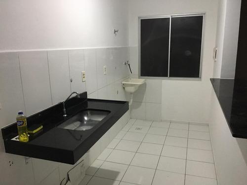 Imagem 1 de 8 de Lindo Apartamento No Condomínio Parque Solene