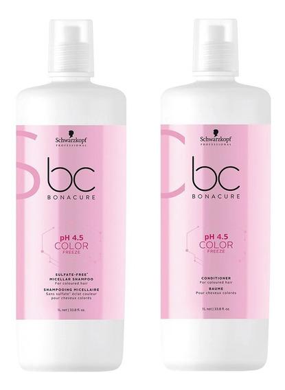 Schwarzkopf Color Freeze Kit Shampoo Sin Sulfato + Enjuage