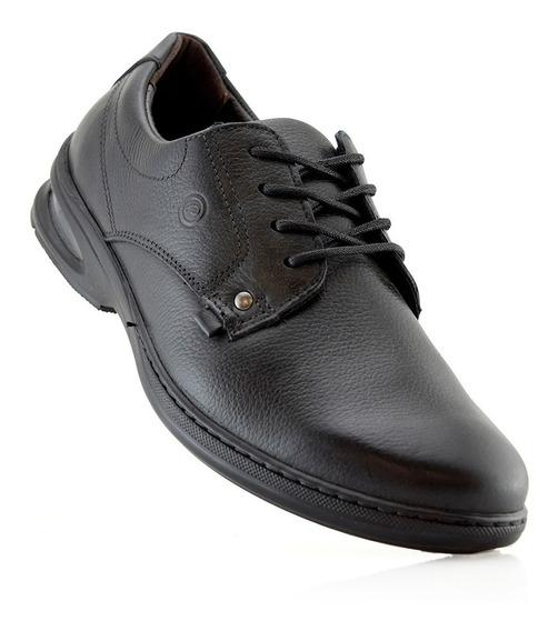 Zapatos Hombres Cuero Talle 43 23305-04 Pegada Luminares