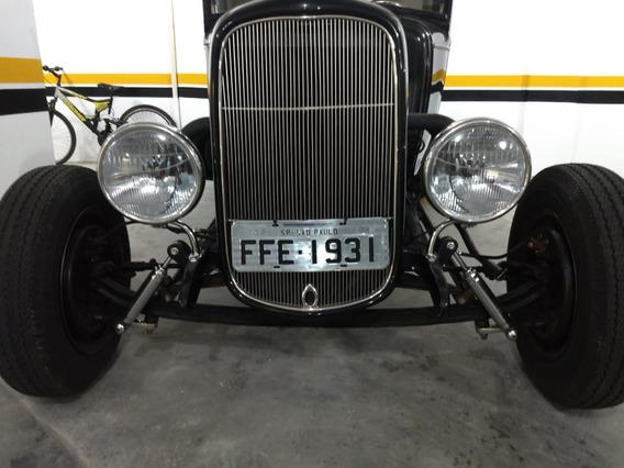 Ford Hot V8 Pick Up 1931 Fordinho Ñ Rat Chevrolet Antigo