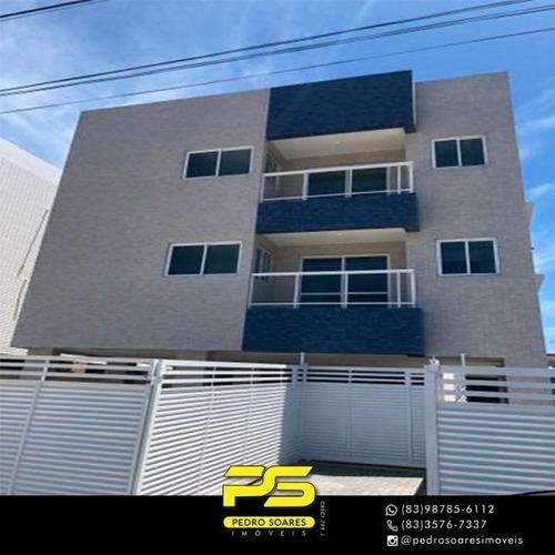 Apartamento Com 3 Dormitórios À Venda, 66 M² Por R$ 215.000,00 - Aeroclube - João Pessoa/pb - Ap3053