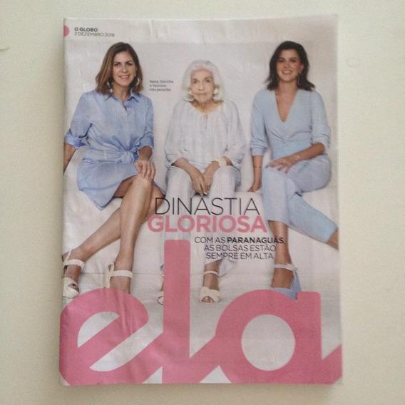 Revista Ela 2/12/2018 Três Gerações Com As Paranaguás C2