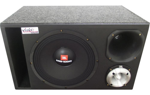 Caixa Trio Woofer Mg-1000 + D200 + St400