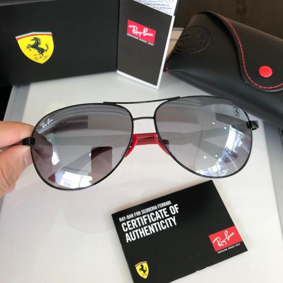Óculos De Sol Masculino Scuderia Ferrari Rb8313m Lancamento