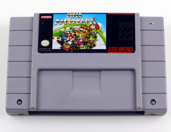Super Mario Kart Original Super Nintendo Snes