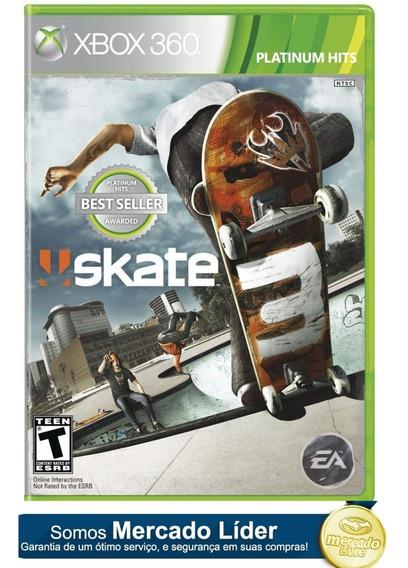 Skate 3 Xbox 360 Original Jogo Xbox Barato