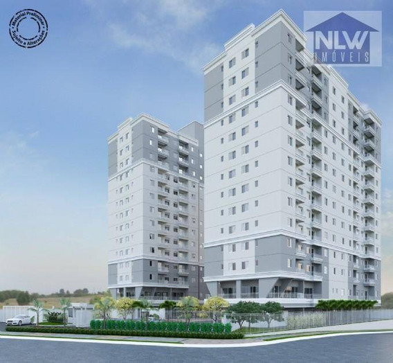 Apartamento Com 2 Dormitórios À Venda, 50 M² Por R$ 313.000 - Vila São Pedro - Santo André/sp - Ap1058