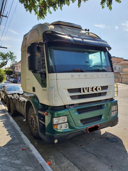 Iveco Stralis 420 6x2 2008 Teto Alto