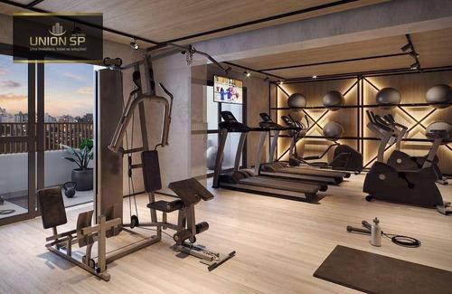 Imagem 1 de 3 de Studio Com 1 Dormitório À Venda, 25 M² Por R$ 387.649,00 - Vila Clementino - São Paulo/sp - St1406