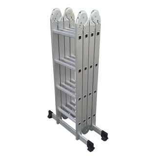 Escalera Aluminio Pleglable 4,70m Kulbart 4x4 Envio Gratis