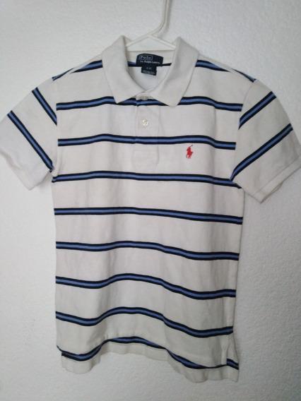 Polo Ralph Playera Tipo Polo Para Niño Talla S/8
