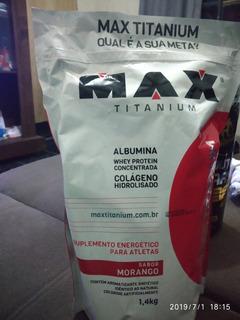 Hipercalórico Max Titanium 1,4 Kg