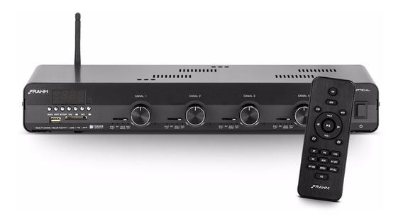 Amplificador Frahm Slim 4500 Optical Mult Channel Bluetooth